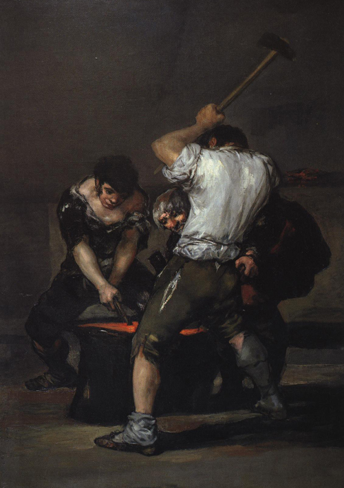 The Forge 1850 | Francisco De Goya Y Lucientes | Oil Painting