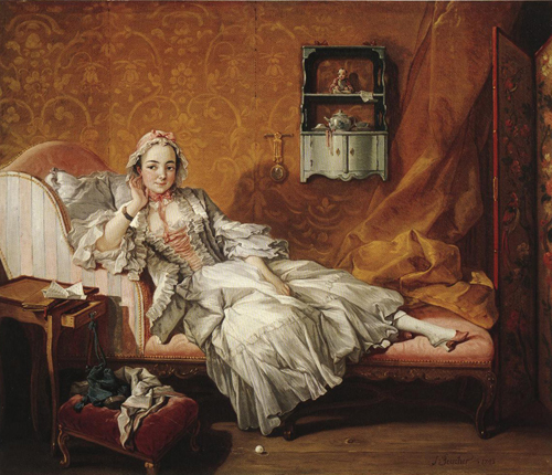 Madame Boucher 1743 | Francois Boucher | Oil Painting