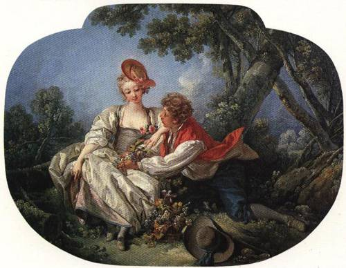 The Four Seasons Autumn 1755 | Francois Boucher | Oil Painting