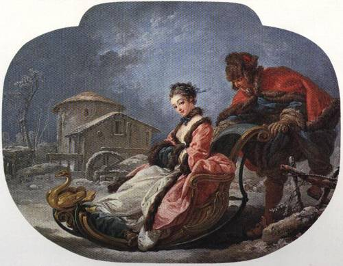The Four Seasons Winter 1755 | Francois Boucher | Oil Painting