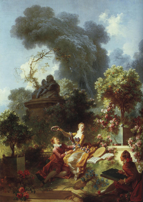 The Lover Crowned | Francois Boucher | Oil Painting