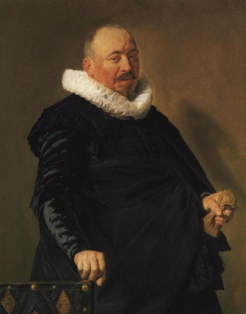 Portrait of an Elderly Man 1627-1630 | Frans Hals | Oil Painting