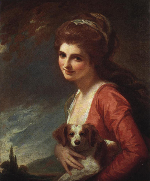 Lady Hamilton as Nature 1782 | George Romney | Oil Painting