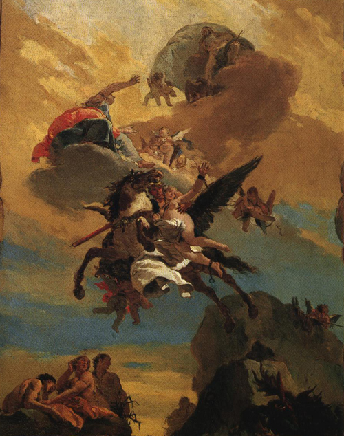 Perseus and Andromeda 1730 | Giovanni Battista Tiepolo | Oil Painting