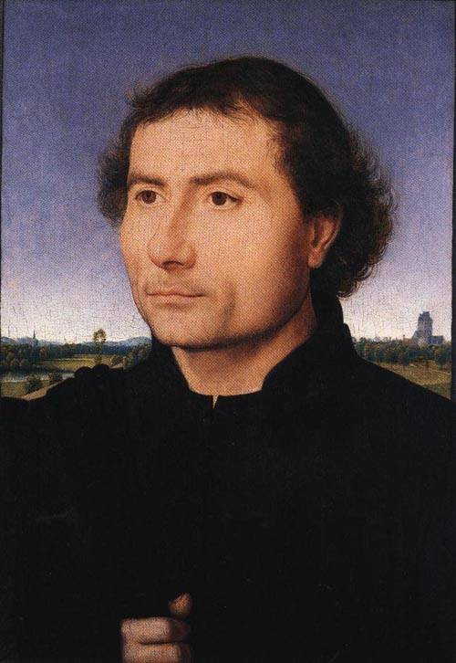 Portrait of a Man 1470 | Hans Memling | Oil Painting