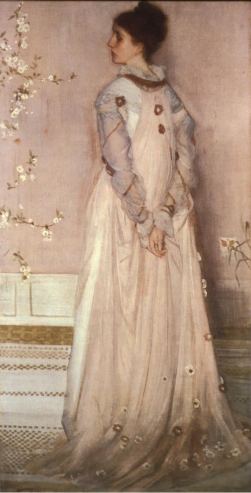 Mrs. Frederick R. Leyland 1891-1892 | James Abbott McNeill Whistler | Oil Painting