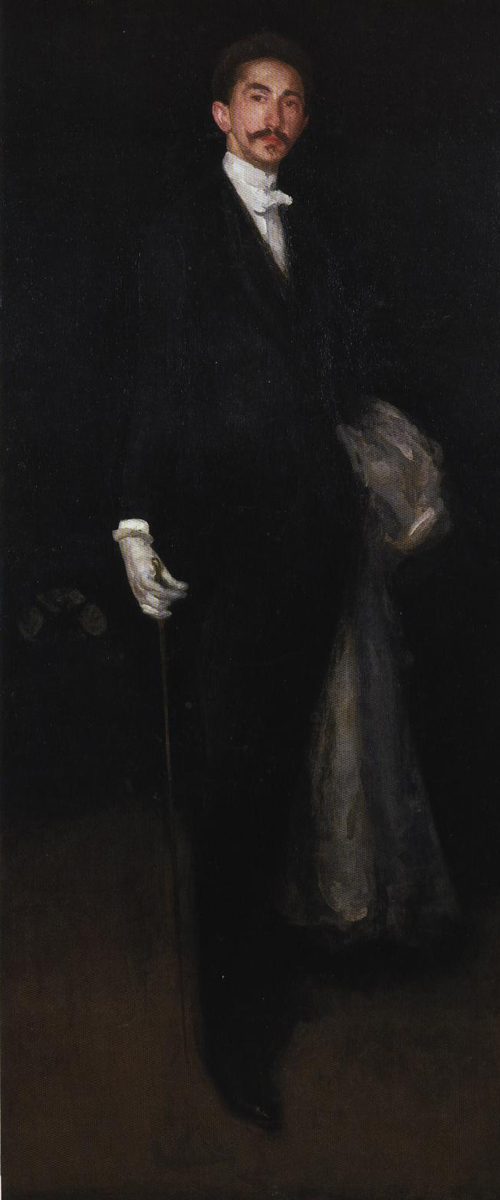 Robert Comte De Montesquiou Fezensac 1891-1892 | James Abbott McNeill Whistler | Oil Painting