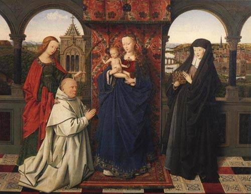 Virgin and Child with Saints and Donor 1441 | Jan Van Eyck | Oil Painting