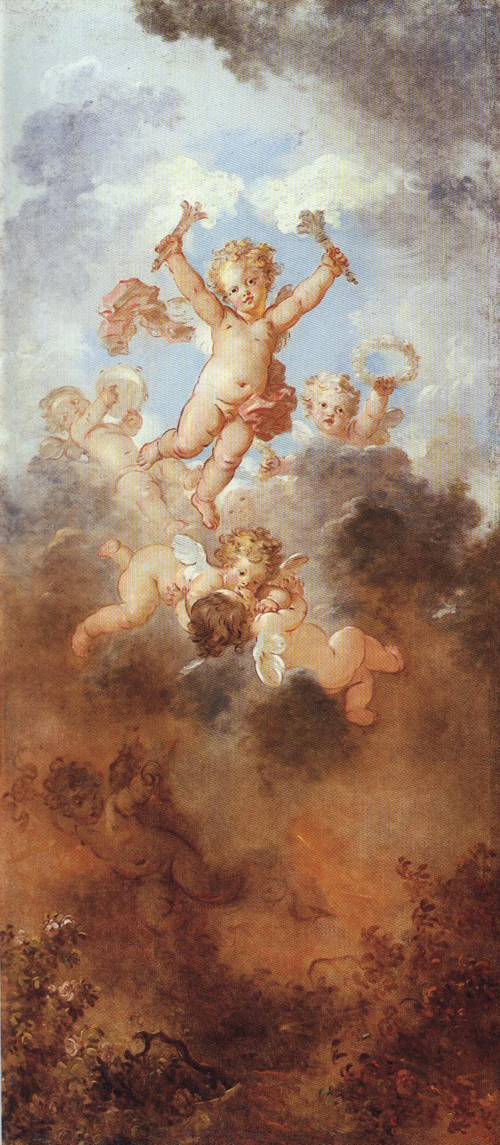 The Progress of Love 1771-1773 | Jean Honore Fragonard | Oil Painting