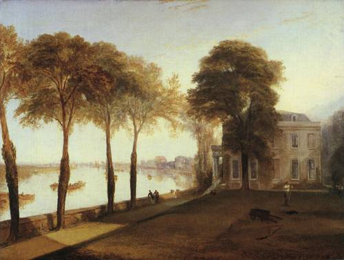 Mortlake Terrace Early Summer Morning 1826 | Joseph Mallord William Turner | Oil Painting