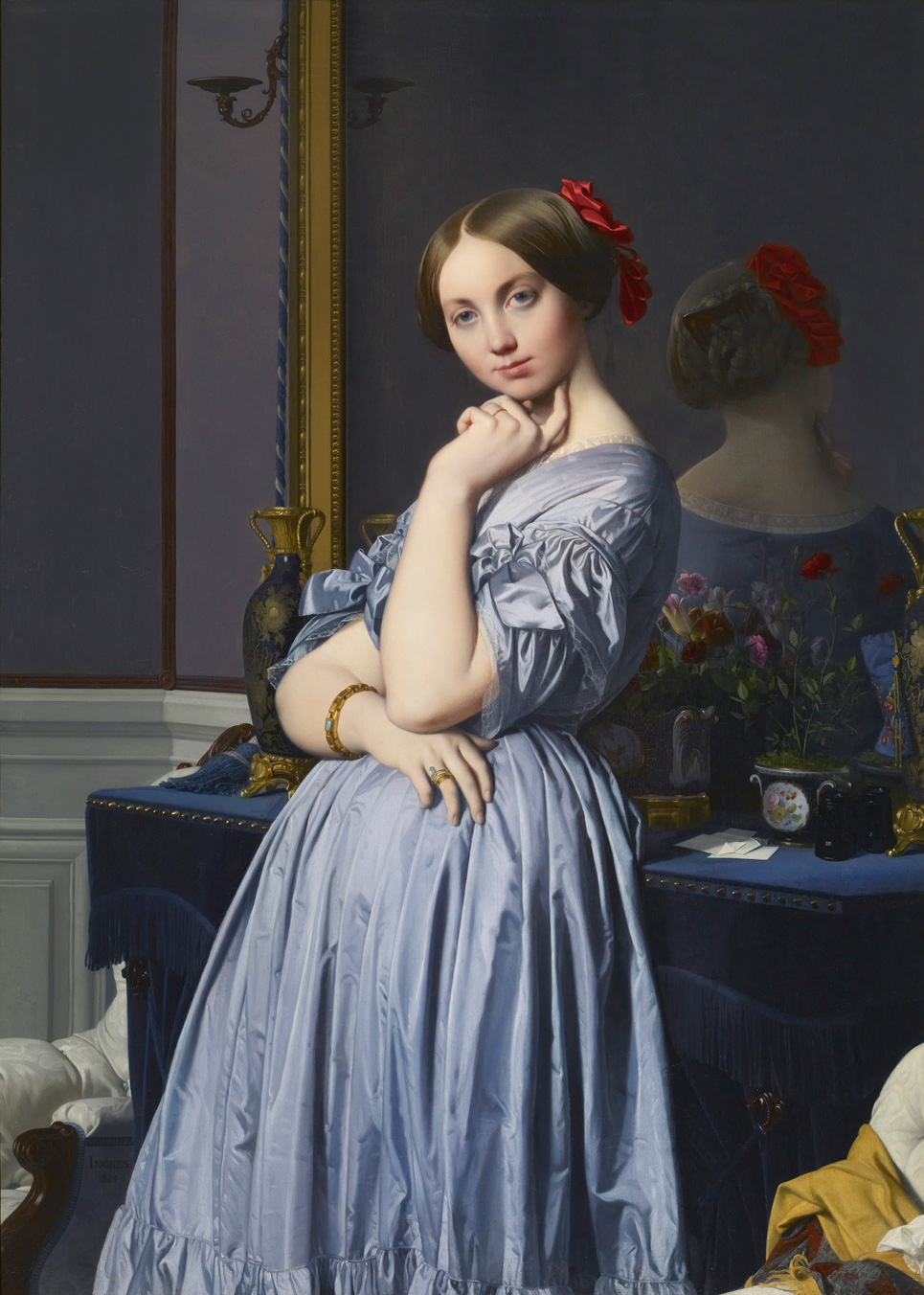 The Comtesse D'Haussonvill 1845 - Jean Auguste Dominique Ingres