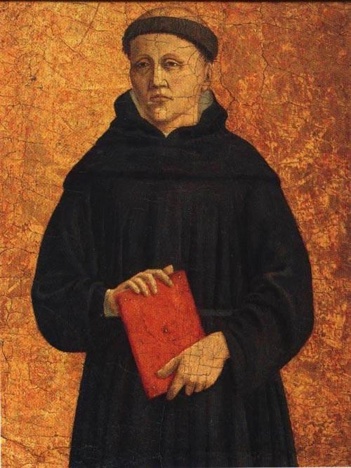 Augustinian Monk | Piero Della Francesca | Oil Painting