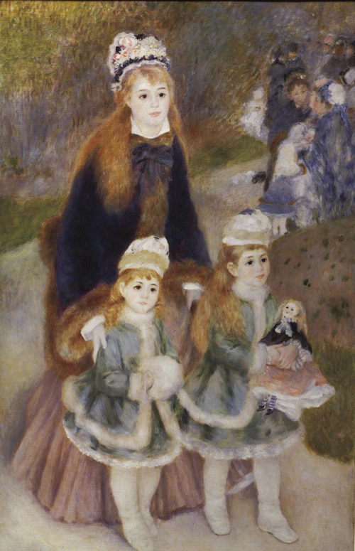 Mother and Children 1876-1878 | Pierre Auguste Renoir | Oil Painting