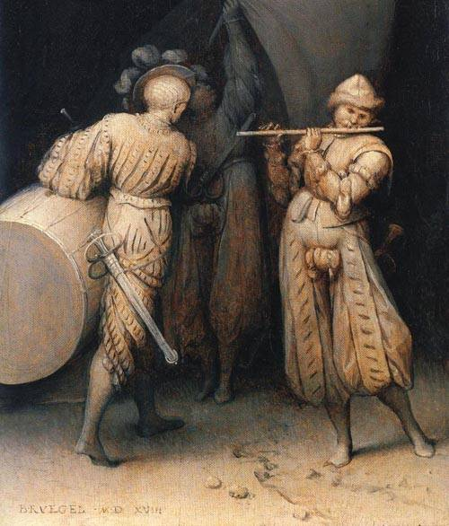 The Three Soldiers 1568 | Pieter Bruegel the Elder | Oil Painting