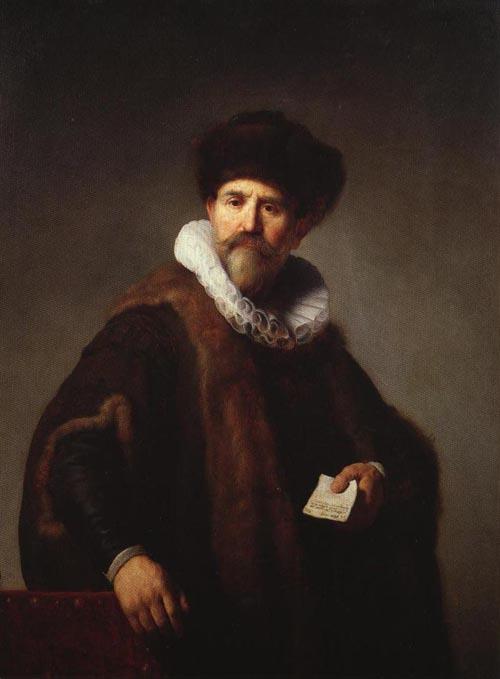 Nicolaes Ruts 1631 | Rembrandt Harmensz Van Rijn | Oil Painting