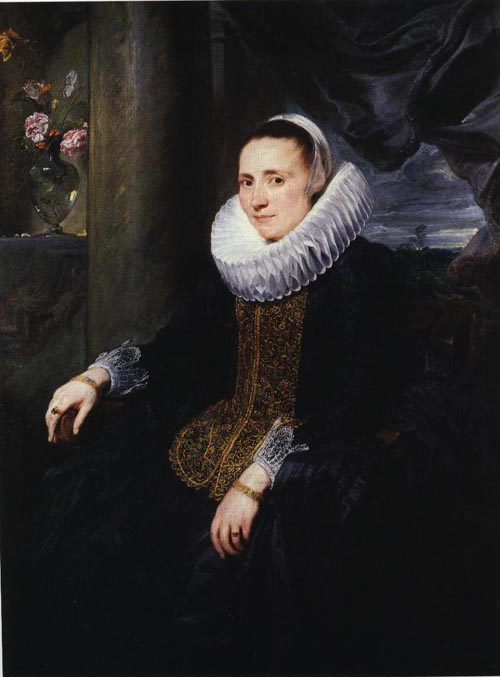 Margareta Snyders 1620 | Sir Anthony Van Dyck | Oil Painting
