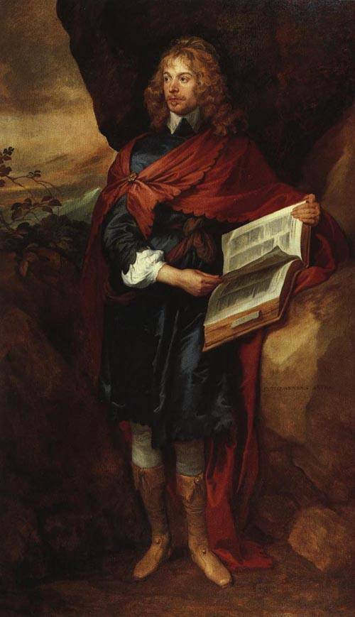 Sir John Suckling 1641 | Sir Anthony Van Dyck | Oil Painting