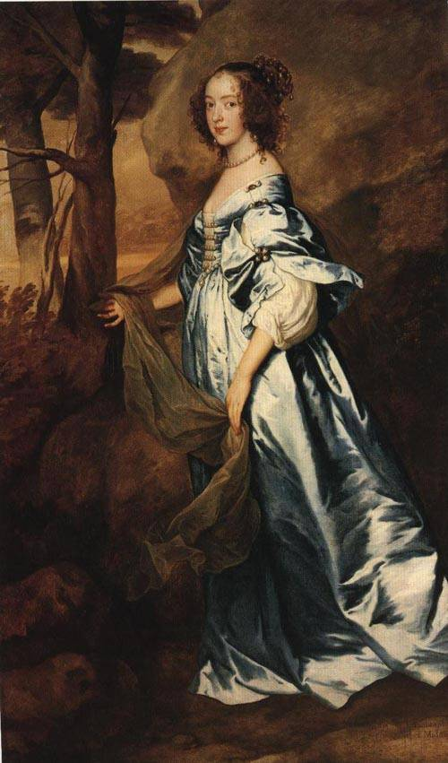 The Countess of Clanbrassil 1636 | Sir Anthony Van Dyck | Oil Painting