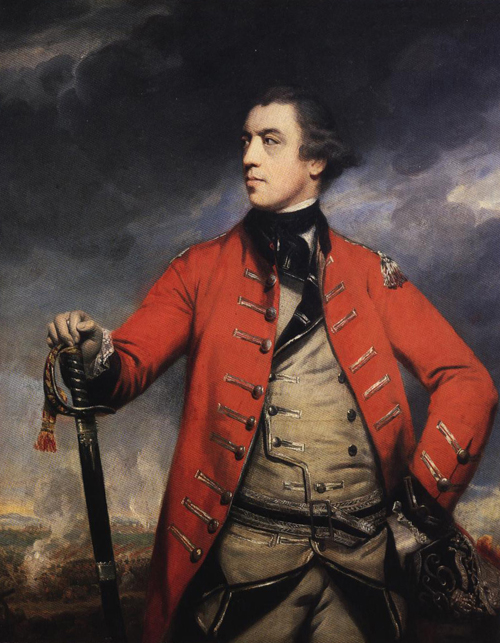 General John Burgoyne 1766 | Sir Joshua Reynolds | Oil Painting