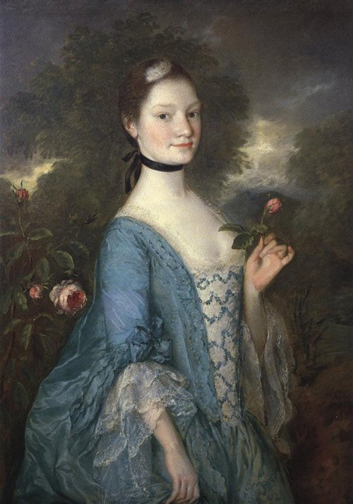 Lady Innes 1757 | Thomas Gainsborough | Oil Painting