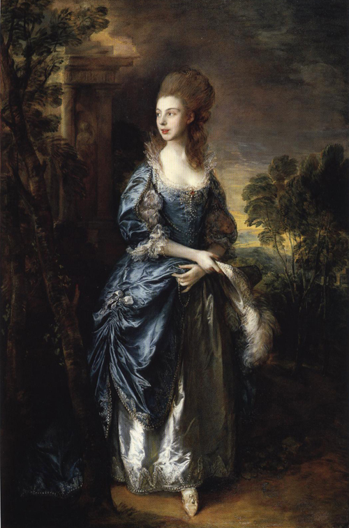 The Hon Frances Duncombe 1777 | Thomas Gainsborough | Oil Painting