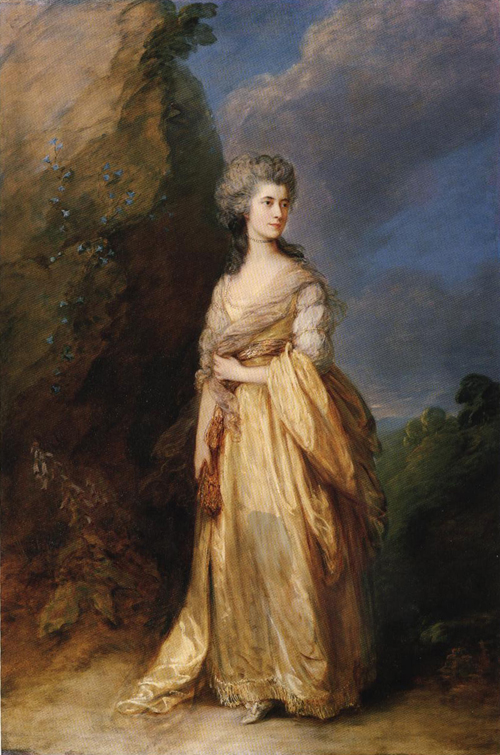 Mrs Peter William Baker 1781 | Thomas Gainsborough | Oil Painting