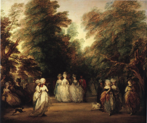 The Mall in St Jamess Park 1783 | Thomas Gainsborough | Oil Painting