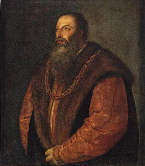 Pietro Aretino 1548 | Titian | Oil Painting