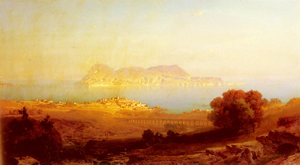 Gibraltar | Friedrich Bamberger | Oil Painting
