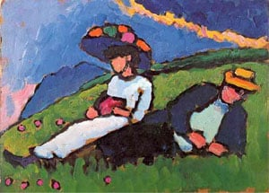 Jawlensky And Werefkin 1908 09 | Gabrielle Munter | Oil Painting