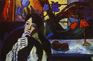 Meditation 1917 | Gabrielle Munter | Oil Painting