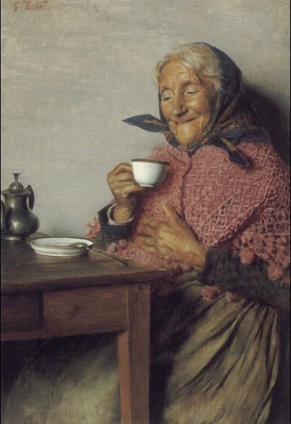 A Good Brew | Gaetano Bellei | Oil Painting