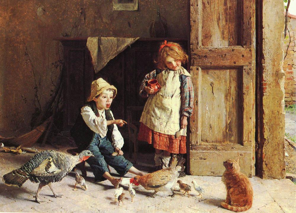 Chierici Gaetano | Gaetano Chierici | Oil Painting