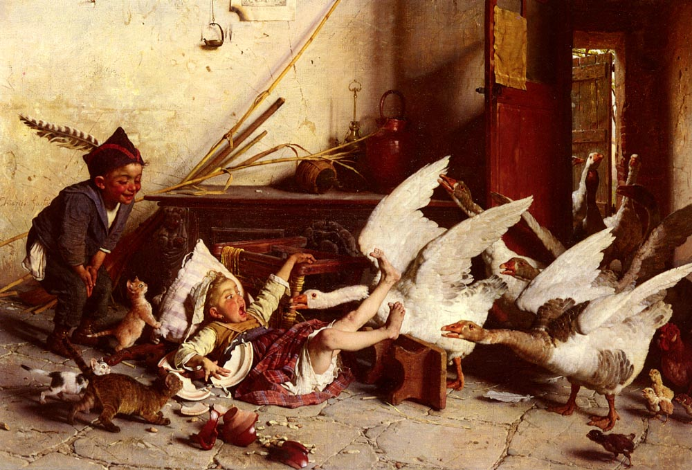 C Patatrach | Gaetano Chierici | Oil Painting