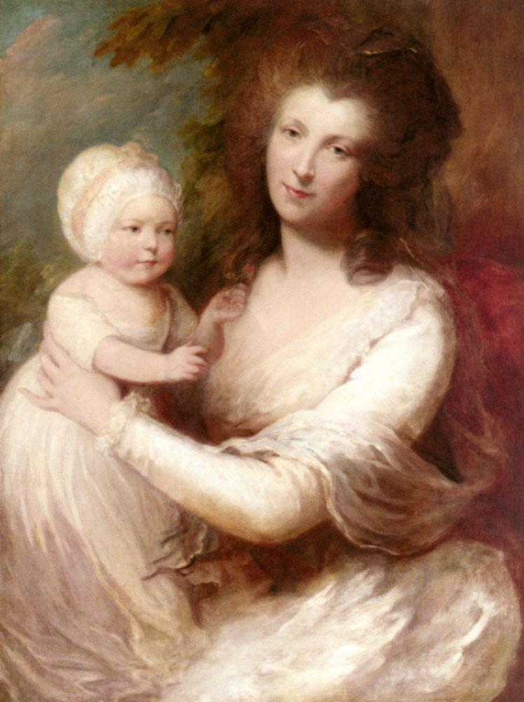 Portrait Of Lady Baillie | Gainsborough Dupont | Oil Painting