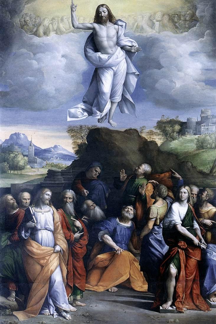 Ascension Of Christ 1510-20 | Garofalo | Oil Painting