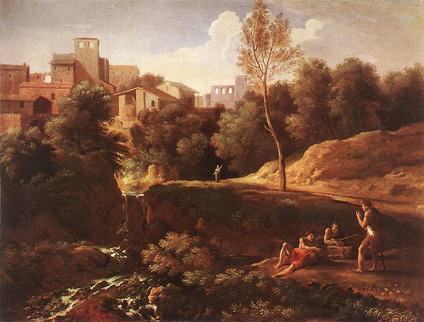 Imaginary Landscape 1650s | Gaspard Dughet | Oil Painting