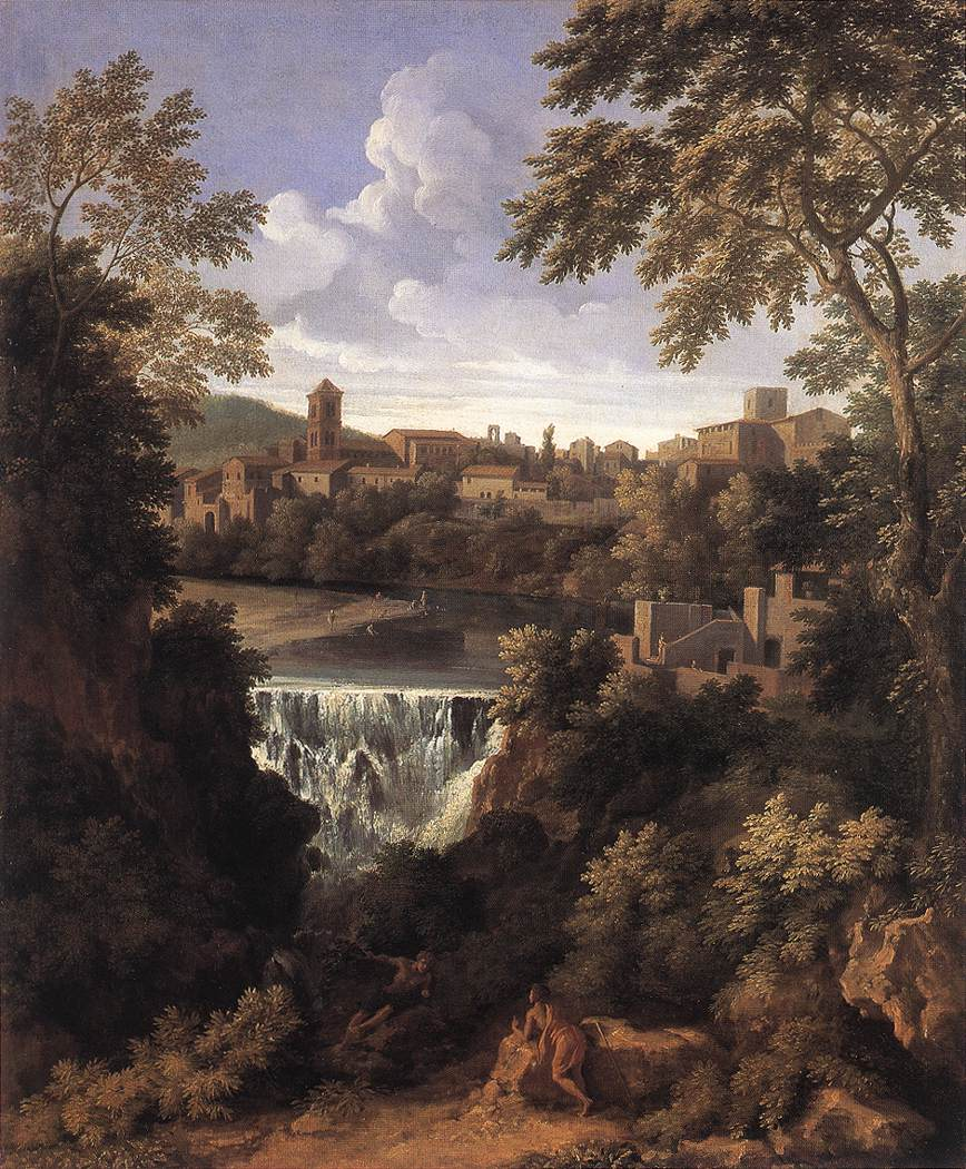 The Falls Of Tivoli 1661 | Gaspard Dughet | Oil Painting