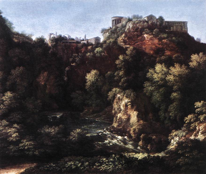 View Of Tivoli | Gaspard Dughet | Oil Painting