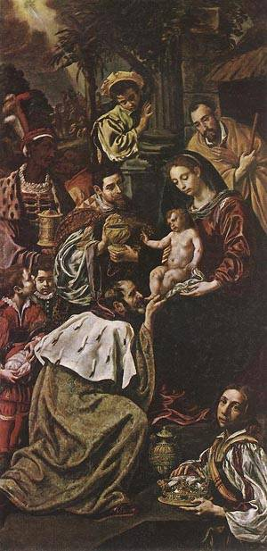 Adoration Of The Magi 1620 | Gaspare Traversi | Oil Painting