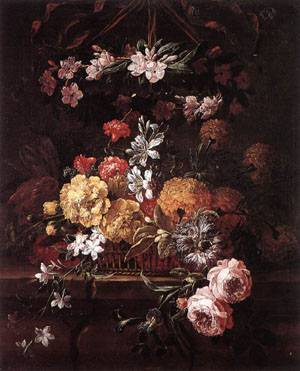 Flower Piece | Gaspar Pieter The Younger Verbruggen | Oil Painting