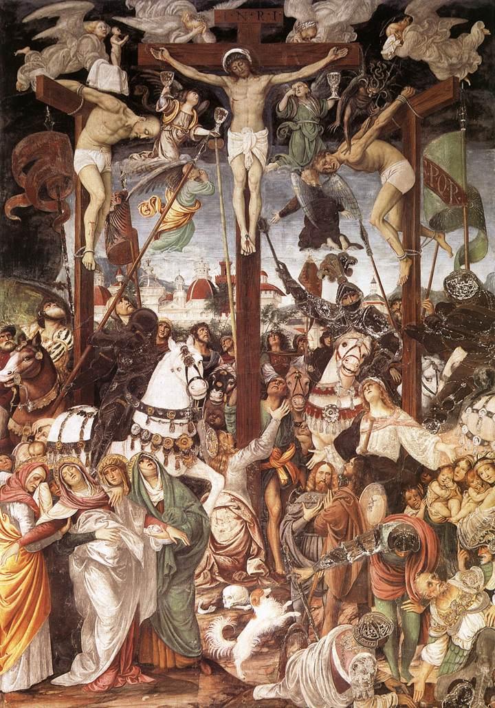 Crucifixion 1513 | Gaudenzio Ferrari | Oil Painting