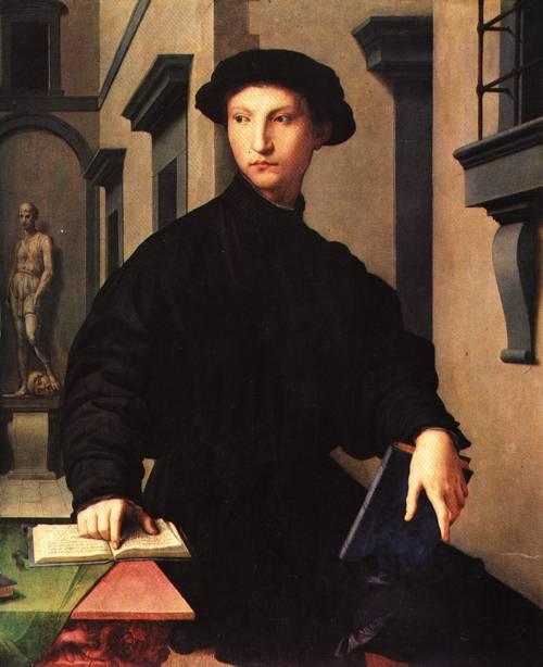 Ugolino Martelli 1535 6 | Agnolo di Cosimo di Mariano called Bronzino | Oil Painting