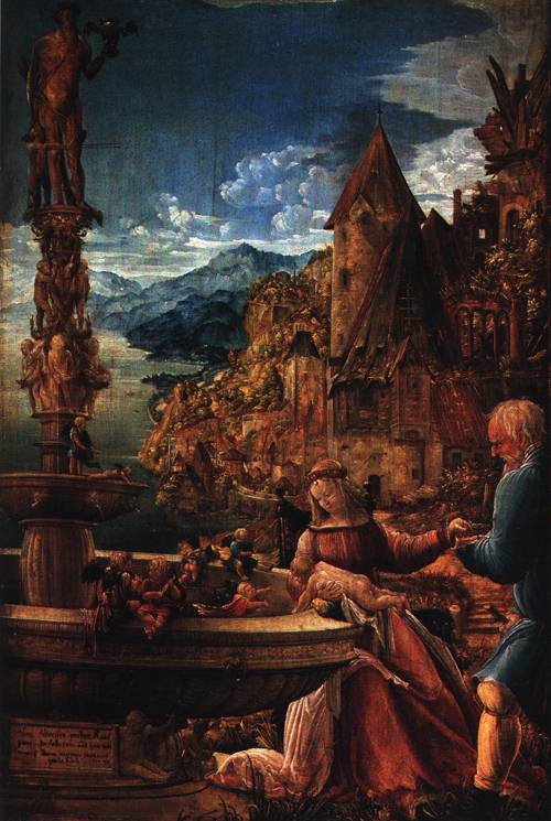 Rest on the Flight to Egypt 1510 | Albrecht Altdorfer | Oil Painting