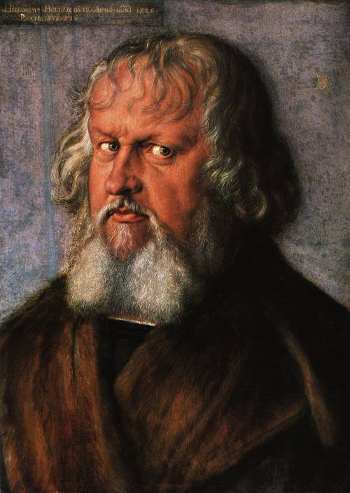 Portrait of Hieronymus Holzschuber 1526 | Albrecht Durer | Oil Painting