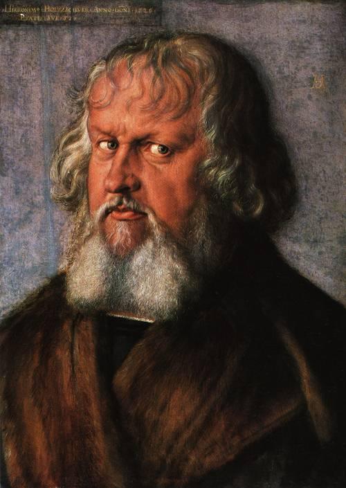 Portrait of Hieronymus Holzschuber 1526 | Albrecht Durer | Oil Painting