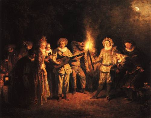 The French Comedy After 1716 | Antoine Watteau | Oil Painting