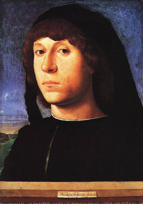 Portrait of a Young Man 1478 | Antonello da Messaina | Oil Painting