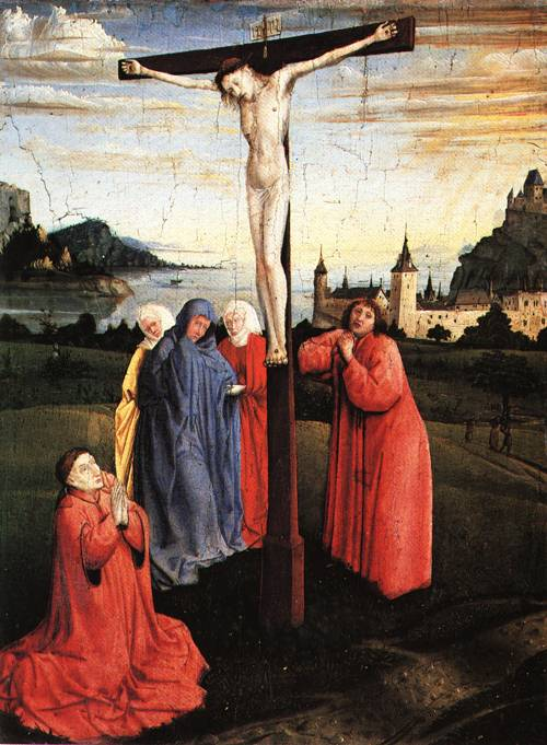 The Crucifixion 1445 50 | Attributed to Konrad Witz | Oil Painting