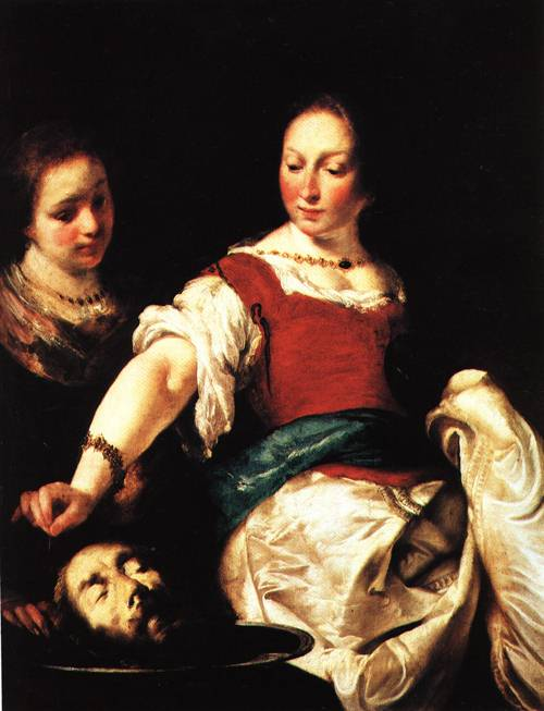 Salome with the Head of John the Bapitist | Bernardo Strozzi | Oil Painting